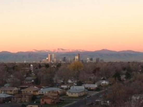 Holiday Inn Denver East-Stapleton: View from balcony