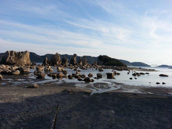 Hashigui Rock: 奇岩群