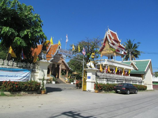 Nine House: The local Wat (buddhist temple) down the road