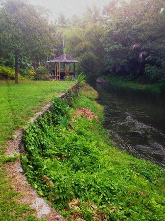 Villa Semana: the river