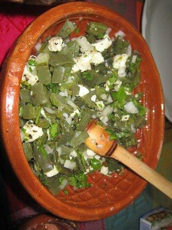 Nopal salad picture of josefina 39 s cocina con alma - Cocina con alma ...