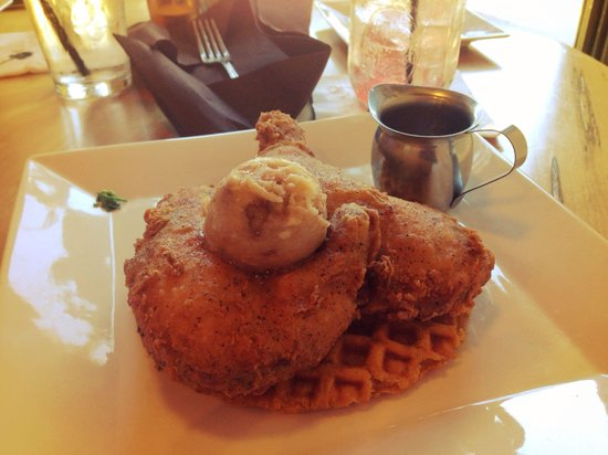LowCountry Bistro : Chicken and Waffles. AMAZING!!