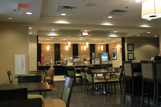 Hampton Inn Washington-Dulles Int'l Airport South: Breakfast Area
