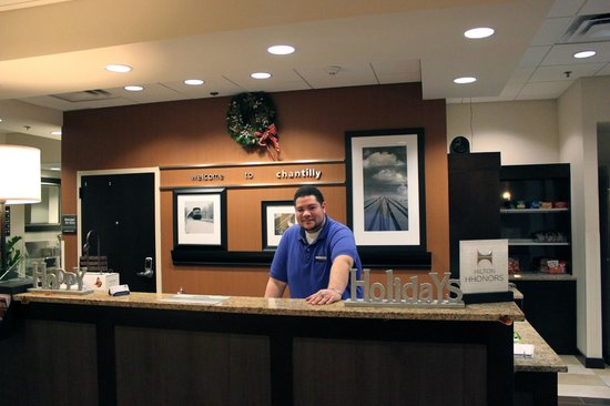 Hampton Inn Washington-Dulles Int'l Airport South : Hospitality with a smile