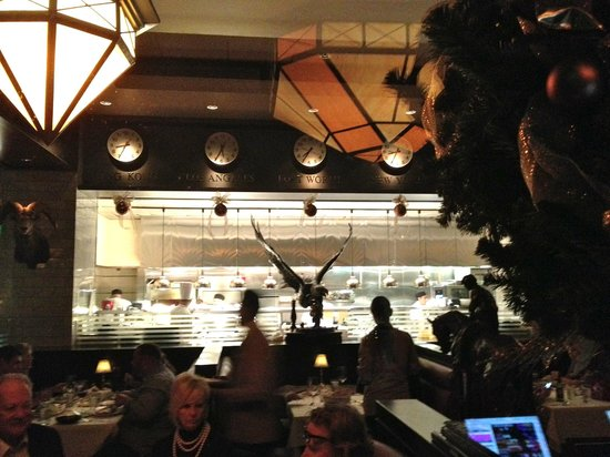 The Capital Grille : View of the Kitchen