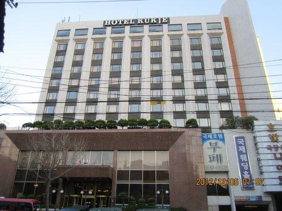 Busan Kukje Hotel: 正面