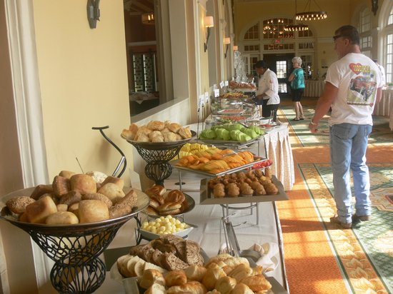 Long View Of The Brunch Layout Picture Of Galvez Bar