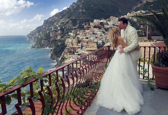 Honeymoon in Positano at Hotel Eden Roc