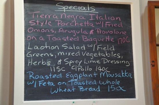 Restaurante El Garaje : They also have daily specials