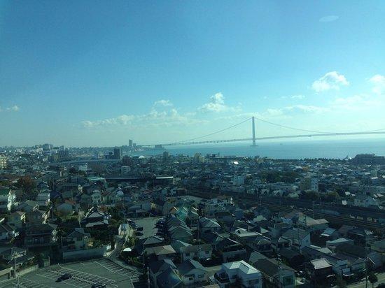 Akashi Municipal planetarium : 展望台からの景色