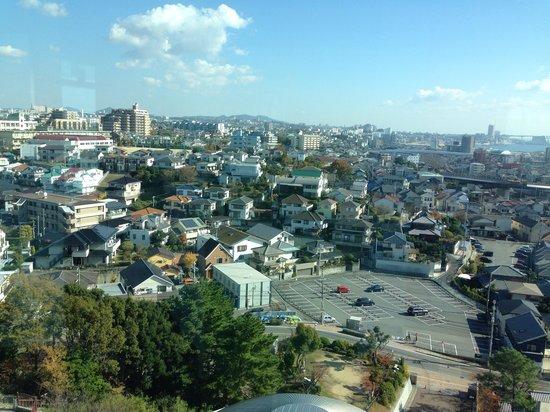 Akashi Municipal planetarium: 第二展望室からの眺望