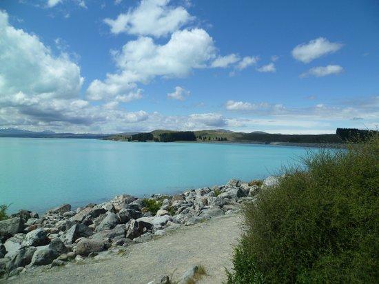 Hermitage Hotel : Crystal blue lake