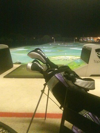 TopGolf Dallas: Fun evening at Top Golf
