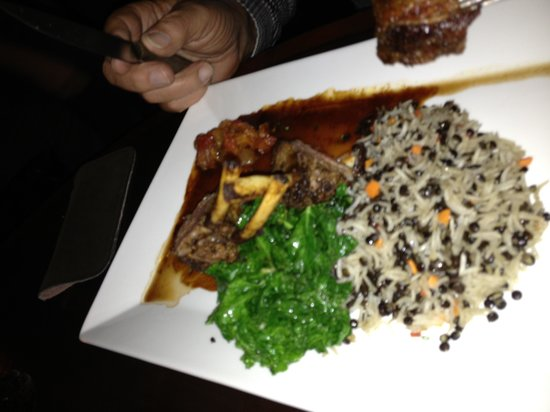 The Farm Table : Turkish lamb with steamed kale and pilaf