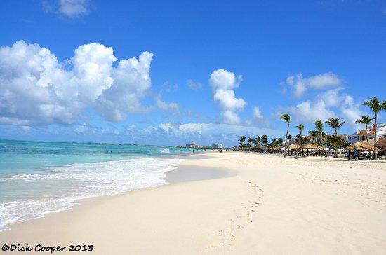 Bucuti & Tara Beach Resort Aruba: Bucuti Beach looking north