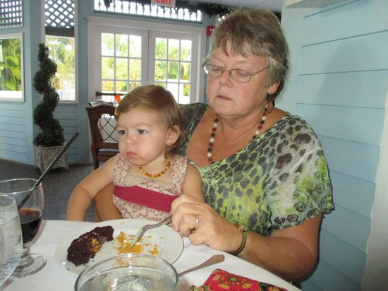 Bistro Soleil at the Olde Marco Inn : Thanksgiving dinner with grandma