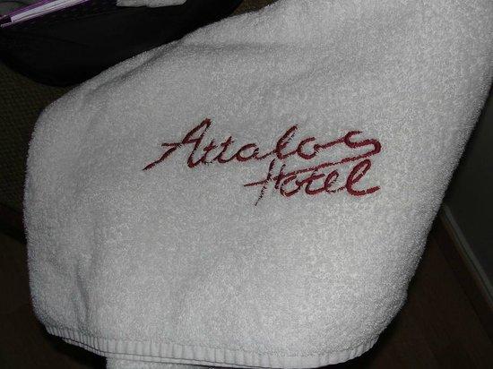 Attalos Hotel: Toallas