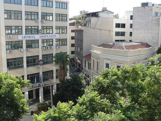 Attalos Hotel: Vista desde la habitación