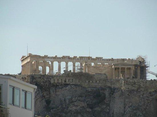 Attalos Hotel : El Partenón visto desde la habitación