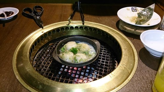 Niujiao: 11月時に於いての新作メニュー、ホタテのバター炒め