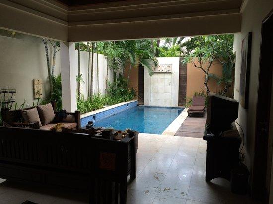 Bhavana Private Villas: Outdoor private pool