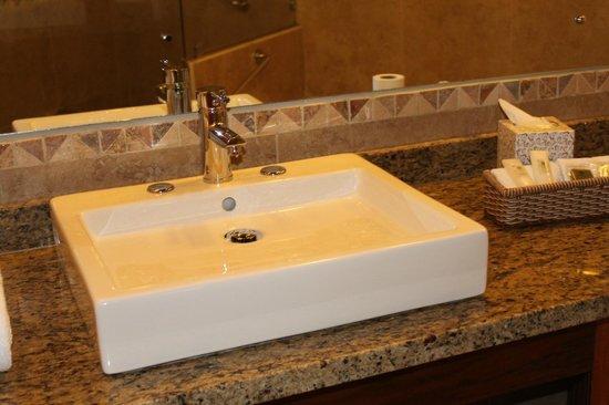 El Establo : Bathroom/vanity