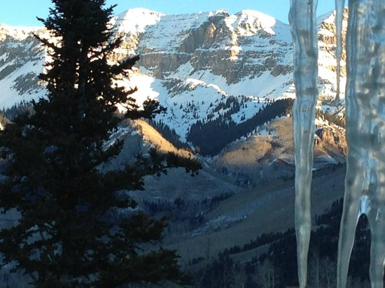 Mountain Lodge Telluride: View from our room