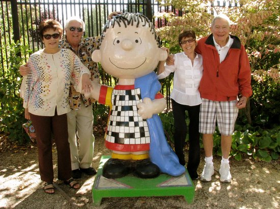 Charles M. Schulz Museum: old friends