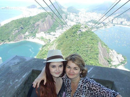 Manu Peclat - Rio Tour Guide : On Corcovado