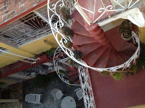 A Bienvenido En El Holandes: Spiral Staircase