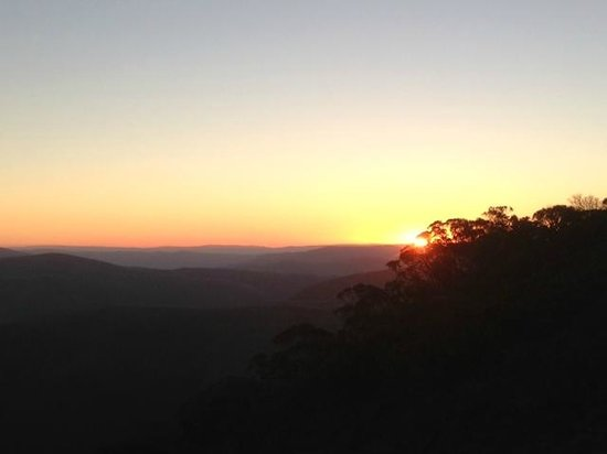 The General: Sunset at Mount Hotham