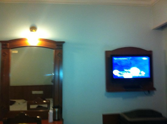 Maurya Residency: Room with TV