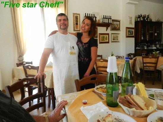 Tenuta Ferraro-Agriturismo: Their Chef could do no wrong.