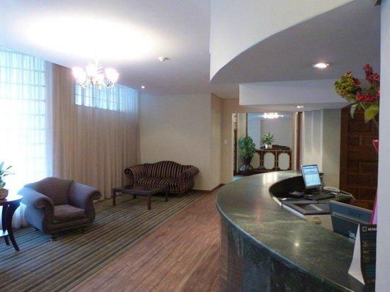 Premier Hotel King David: Reception