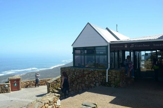 Cape of Good Hope: funicular station