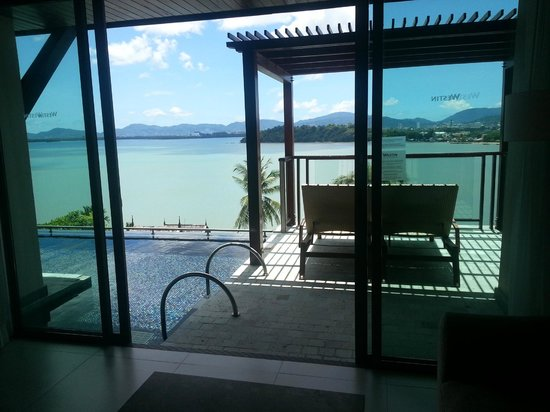 The Westin Siray Bay Resort & Spa Phuket: the verandah. perfect for lounging around and doing nothing.