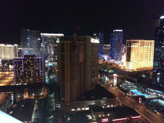 Signature at MGM Grand: View from the balcony