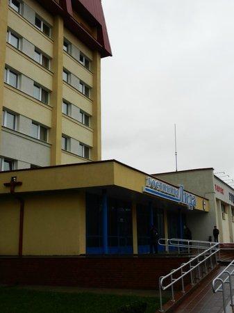 Lida Hotel: Вот так отель выглядит снаружи