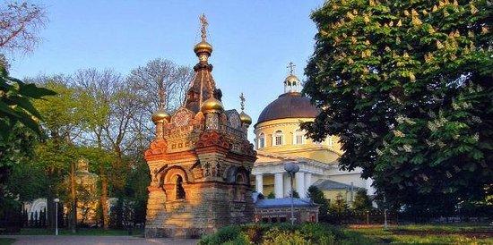 Gomel, Belarus: церковка