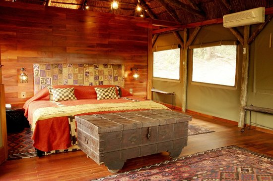 Lalibela Game Reserve: Tree Tops bedroom