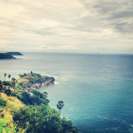Kata Silver Sand Hotel: Promthep Cape Viewpoint (маяк)
