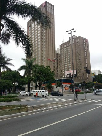 Mercure Guarulhos Aeroporto Hotel: View of hotel from outside