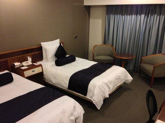 ANA Crowne Plaza Hiroshima : Comfy beds