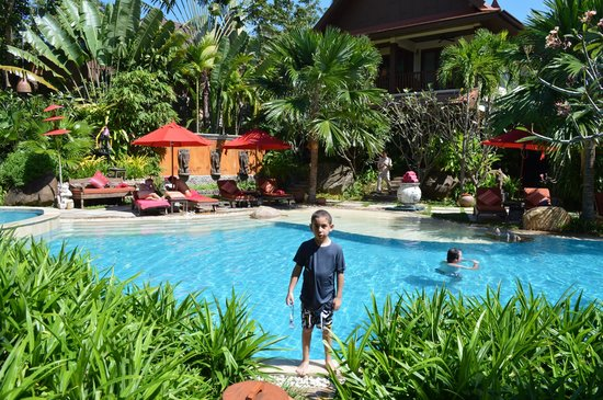 Rocky's Boutique Resort : Big pool