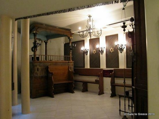 Jewish Heritage Tours: Synagogue of Patras in the Jewish Museum of Athens