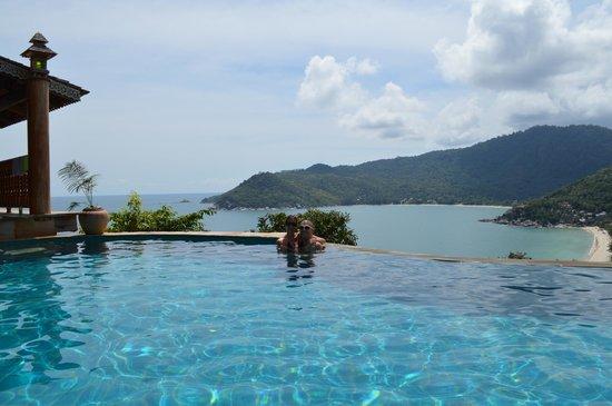 Santhiya Koh Phangan Resort & Spa: Pool from our room