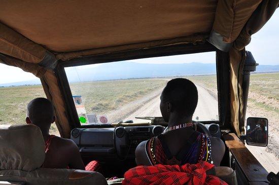 Porini Amboseli Camp: Shadrack and Jonah - great guides