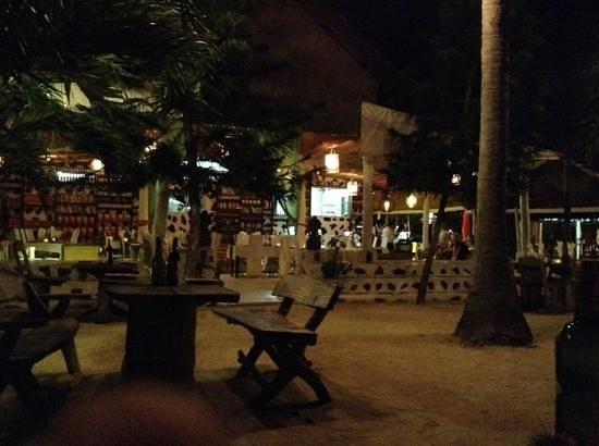 Milky Bay Resort: Ristorante