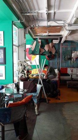 Silom Art Hostel: common area