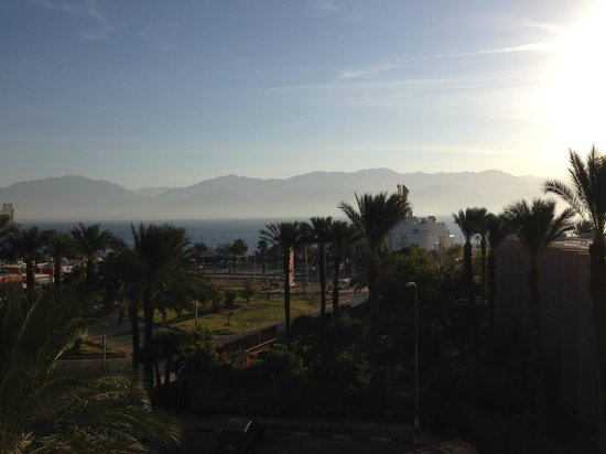 U Coral Beach Club Eilat: Вид из номера